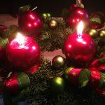 Adventní věnec – druhá svíce